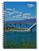 Roosevelt Lake 3 - Arizona Spiral Notebook