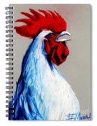 Rooster Head Spiral Notebook