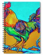 Rooster Perch Spiral Notebook