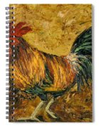 Rooster With Attitude Spiral Notebook