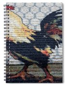 Rooster1 Spiral Notebook
