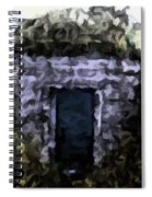 Root Cellar Abstraction Spiral Notebook