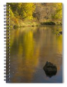 Root River Autumn 2 Spiral Notebook
