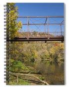 Root River Autumn 3 Spiral Notebook