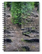 Roots - Cross Your Eyes And Focus On The Middle Image That Appears Spiral Notebook
