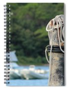 Rope And Knot Spiral Notebook