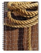 Rope And Net Spiral Notebook