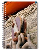 Ropes And Chains Spiral Notebook