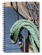 Ropes And Rigging Spiral Notebook