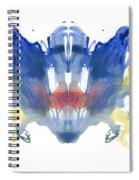 Rorschach Type Inkblot Spiral Notebook