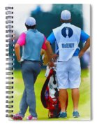 Rory Mcilroy  Spiral Notebook