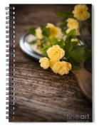 Rosa Banksiae Lutea Spiral Notebook