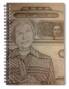 Rosa Parks Imagined Progress Spiral Notebook