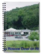 Roscoe Ny Diner Spiral Notebook