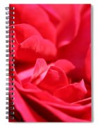 Rose Abstract Spiral Notebook