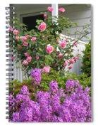 Rose And Dame's Rocket Spiral Notebook