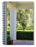 Rose And Front Porch Spiral Notebook