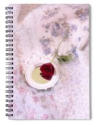 Rose And Mirror Spiral Notebook
