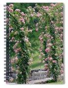 Rose Arbor Spiral Notebook