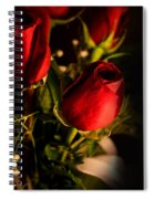 Rose Bouquet Spiral Notebook