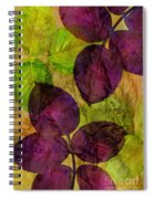 Rose Clippings Mural Wall Spiral Notebook