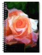 Rose Colored Spiral Notebook