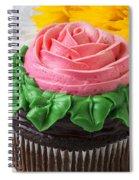 Rose Cupcake Spiral Notebook