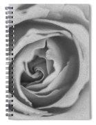 Rose Digital Oil Paint Spiral Notebook