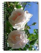 Rose Duo Spiral Notebook