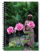 Rose Garden 3 Spiral Notebook