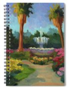 Rose Garden Spiral Notebook