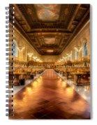 Rose Main Reading Room Spiral Notebook