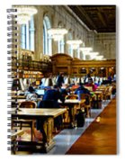Rose Main Reading Room New York Public Library Spiral Notebook