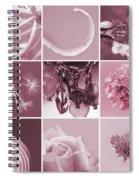 Rose Mosaic Spiral Notebook