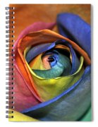 Rose Of Equality Spiral Notebook