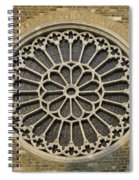Rose Of The Cathedral Of San Giusto Spiral Notebook