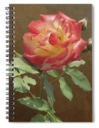 Rose On Thornridge Road Spiral Notebook