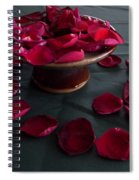 Rose Petals And Pottery Spiral Notebook