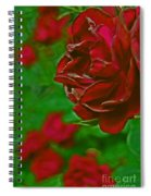 Rose Red By Jrr Spiral Notebook