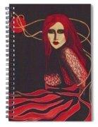 Unravel Spiral Notebook