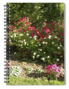 Rose Splender Spiral Notebook