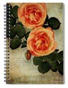 Rose Tinted Memories Spiral Notebook