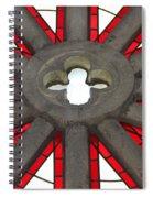 Rose Window Closeup Spiral Notebook