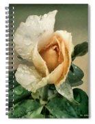Rosebud After The Rain Spiral Notebook