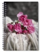 Roses And Lace Spiral Notebook
