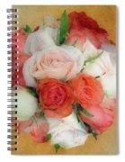 Roses Antiqua Spiral Notebook