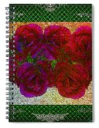 Roses- Featured In Beautiful Roses And Comfortable Art Groups Spiral Notebook