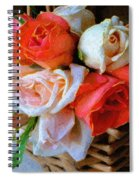 Roses Florentine Spiral Notebook