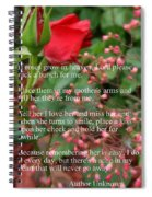 Roses In Heaven Spiral Notebook