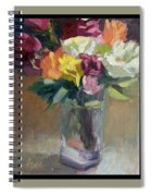 Roses In North Light Spiral Notebook